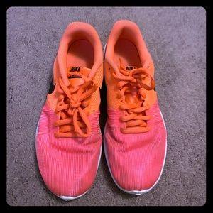 Girls Nike size 4 sneakers